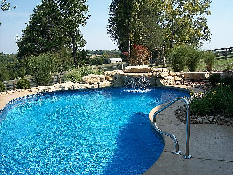 Pools swimming pools pool lawrenceburg kentucky ky for Pool design louisville ky