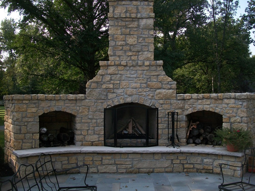 Outdoor Kitchens, Outdoor Fireplaces, Shelbyville, Kentucky, KY